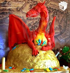 The Hobbit Cake | Smaug Cake | by The Regali Kitchen