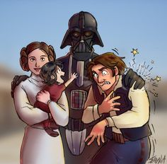 Aw, what a... beautiful... family.