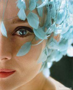 #make up #blue #turquaise