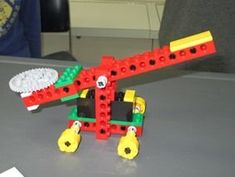 Understand Simple Machines with LEGO: This program is based on the Lego Simple Machines Set, bought through Lego Education.