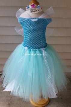 Princess Tutu Dress - Girls Princess Party Tutu Dress - Aqua, Teal Tutu Dress…