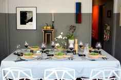 Table manners and modern day Etiquette modern dining room by Fitzsu
