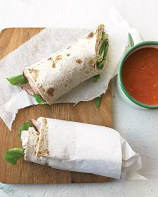 This soup-and-sandwich combo can be made up to a day ahead -- perfect for a picnic or a fun, casual dinner at home.