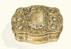 A jewelled gold Imperial presentation box, probably Hanau, circa 1865 - Sotheby's