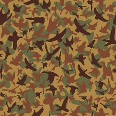 "CAMO-""On the Wing"" original design Old School camo pattern by Wm Lamb & Son. I have always loved a little camo... designed by Tallahassee Native"