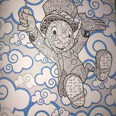 Pepito Grillo! Ni siquiera recuerdo cuando fue la última vez que vi Pinocho, espero verla pronto! #cricket #jimmycricket #pinochio #disney #disneyfan #disneycoloriage #disneyart #disnetarttherapie #disneyadultcoloringbook #adultcoloringbook #disneycoloriage #disneyanimals #disneycoloringbook #blue