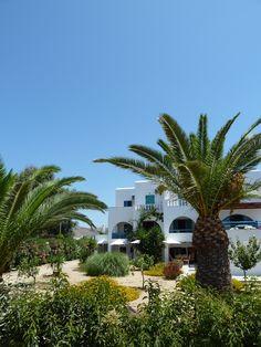 the Garden of Villa Naxia, Naxos, Greece