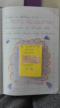 Classe Terza- Italiano- Febbraio- Testo regolativo - Maestra Anita Geography Lessons, School Tomorrow, Desperate Housewives, Classroom Projects, Class Management, Flora, Bullet Journal, Coding, Teaching