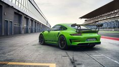 Green Envy: Porsche's New GT3 RS Will Truly Intimidate on the Track