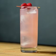This tall, sweet and spicy gin drink is straight from the Lone Star State.