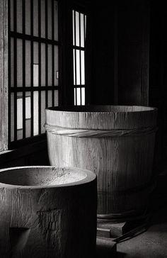 Japanese traditional barrel