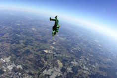 To go sky diving, without being attached to anyone :)