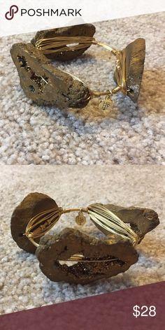Bourbon & Boweties gold bracelet Brand new! Bourbon and Bowties Jewelry Bracelets