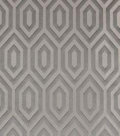Richloom Studio Print Fabric-Hernando Pewter