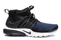 Nike Air Presto Mid SP in Black & Obsidian - EU Kicks: Sneaker Magazine
