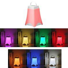 Creative Eiffel USB PIR Motion Sensor Touch Sleep Night Light Table Lamp
