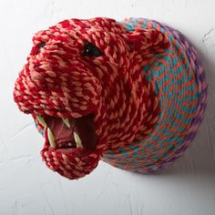 Rope Wrapped Lion Mount now featured on Fab.com I'm loving all these colors!!