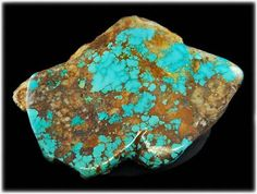 Large Spiderweb Royston Turquoise Rough specimen. This beautiful Royston Turquoise Gemstone weighs about 4 lbs. it was taken out of the Royston Turquoise Mine approximately 1995.