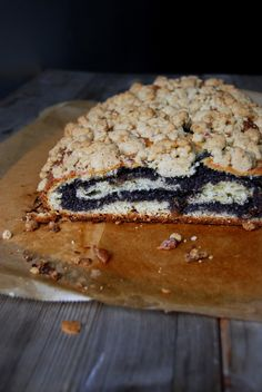 German Poppy Seed Strudel with Cinnamon Crumbles ° eat in my kitchen