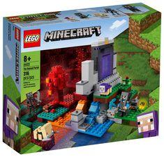 Lego Minecraft, Minecraft Portal, Minecraft Sheep, Minecraft Accessories, Legos, Brick Store, O Portal, Minecraft Characters, Baby Sheep