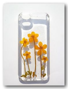 Etsy Shop selling iPhone cases made with real dried flowers and resin.... new top reason to switch to team iPhone? $18-$20 + $5 shipping