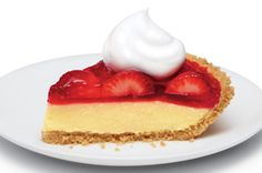 Treating them to this no-bake, diner-style strawberry pie is as easy as you-know-what. In just 20 minutes you can have it chillin' in the fridge. Easy Strawberry Pie, Strawberry Recipes, Strawberry Kitchen, Pie Dessert, Dessert Recipes, Recipes With Cool Whip, Easy Pie, No Bake Pies, Instant Pudding