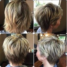 Image result for short shaggy hairstyles 2017