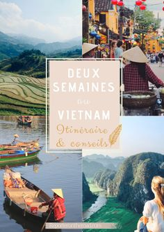 Two-week travel itinerary in Vietnam: All you need to know If you prepare your travel itinerary for Vietnam, in 12 or 15 days, here is all you need to know and all my travel tips – Reporter On The Road Hanoi, Vietnam Travel Guide, Asia Travel, Hoi An, Bangkok, Vietnam Vacation, Best Travel Guides, Travel Tips, Travel Advice