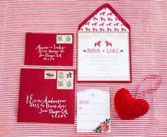 so sweet // swedish christmas wedding stationery Wedding Blog, Wedding Planner, Our Wedding, Dream Wedding, Wedding Shoes, Scandinavian Wedding, Swedish Wedding, Scandinavian Festival, Christmas Wedding Themes