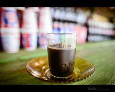 Kopi ala Indonesia: Kopi Tubruk.  the Indonesian way of enjoying strong, black coffee :)
