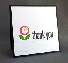 MASKerade: The Card Concept - Challenge 4 - Floral