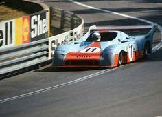 1975 24 Hours Le Mans : Derek Bell, Mirage GR8 #11, Gulf Research Racing Co, Winner (with Ickx). (ph: derekbell.com)