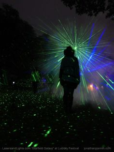 By adding fog to your BlissLights laser starfield projectors you create 3D laser rods of light!  http://lasersandlights.com/firefly-ldh-emerald-green-laser-lamp-p-228.html?cPath=7