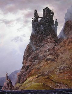 """Dragonstone. """"[He] had seen Dragonstone with his own eyes. He doubted very much that [they] had searched every inch of that ancient stronghold. The Valyrians had raised it, after all, and all their works stank of sorcery."""""""