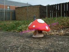 Fimo Mushroom Fairy House (small). £10.00, via Etsy.