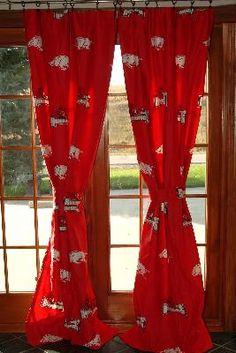 Arkansas Razorbacks Curtain Panels