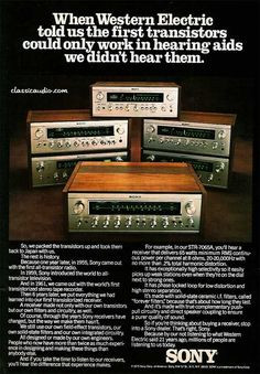 Sony Audio Receivers.  Anyone still have one like this?