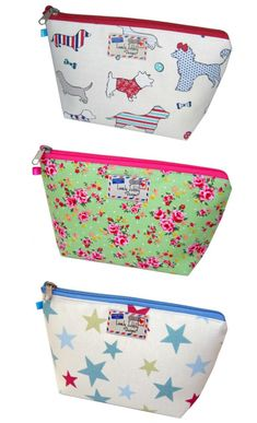 Loving these makeup bags! So. Cute.