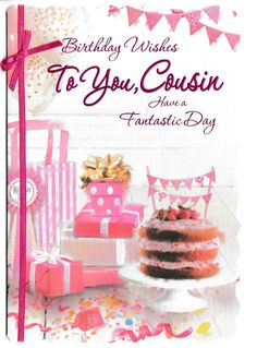female cousin traditional birthday card - 10 x cards to choose from! Happy Birthday Wishes Cousin, Funny Happy Birthday Meme, Cousin Birthday, Happy Birthday Quotes, Happy Birthday Images, Happy Birthday Greetings, Birthday Cards, Birthday Invitations, Birthday Ideas