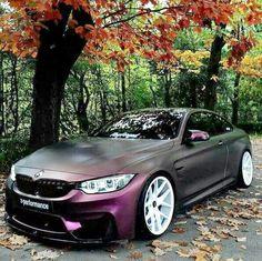 Purple bmw........