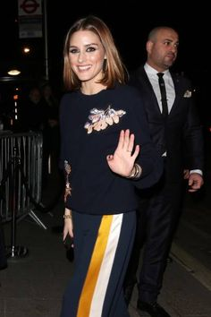 Olivia Palermo seen at the Vogue and Tiffany Co party at Annabel's club after attending the EE British Academy Film Awards at the Royal Albert Hall...