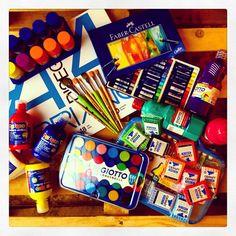#tempere #colori #cernit dai sfogo alla tua creatività