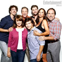 Cast Reunions 2012: Home Improvement- Taran Noah Smith, Patricia Richardson, Tim Allen, Jonathan Taylor Thomas, Zachery Ty Bryan, Debbe Dunning and Richard Karn