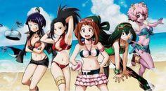 #MyHeroAcademia #MaillotDeBain #Anime #Manga