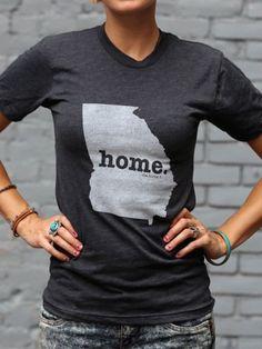 Georgia Home T State Shirt | Bourbon & Boots