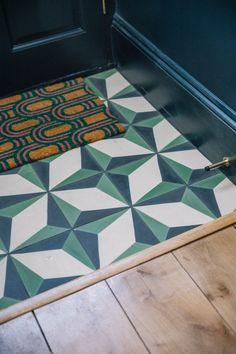 The House Diaries: The Final Images! – Poppy Deyes - The House Diaries: The Final Images! Hallway Decorating, House, Hallway Tiles Floor, Tiles, Entryway Tile, Flooring, Hall Tiles, Entryway Flooring, Tiled Hallway