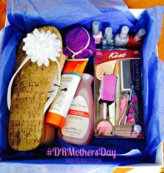 Sorprende a mamá con una canasta de pedicure en su día! #DRMothersDay #shop #collectivebias