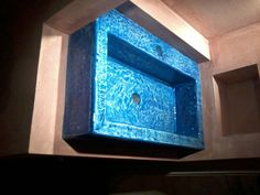 Concrete sink made by handmade-sa