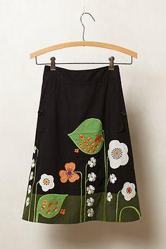Archival Collection: Vine Skirt #anthropologie