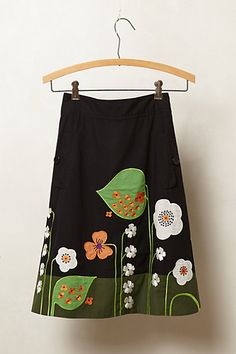 Archival Collection: Vine Skirt #anthropologie
